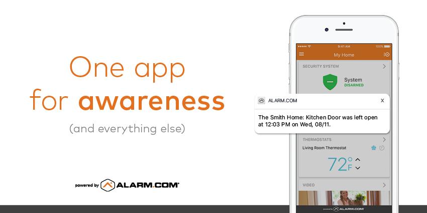 smart home app awareness