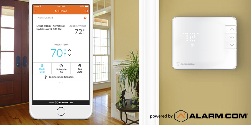 smart thermostat new home