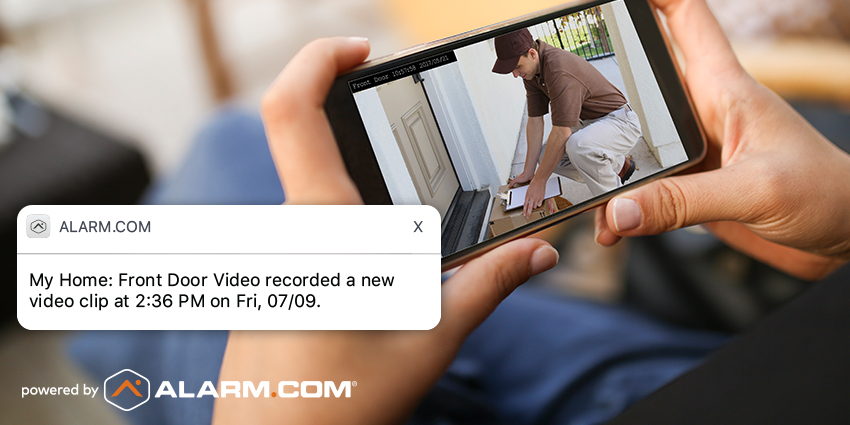 smart security camera alert