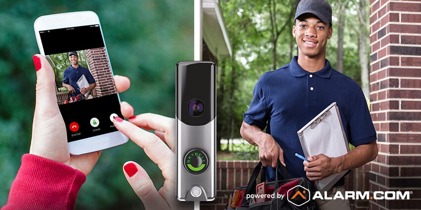 smart phone with home automation app in Florida