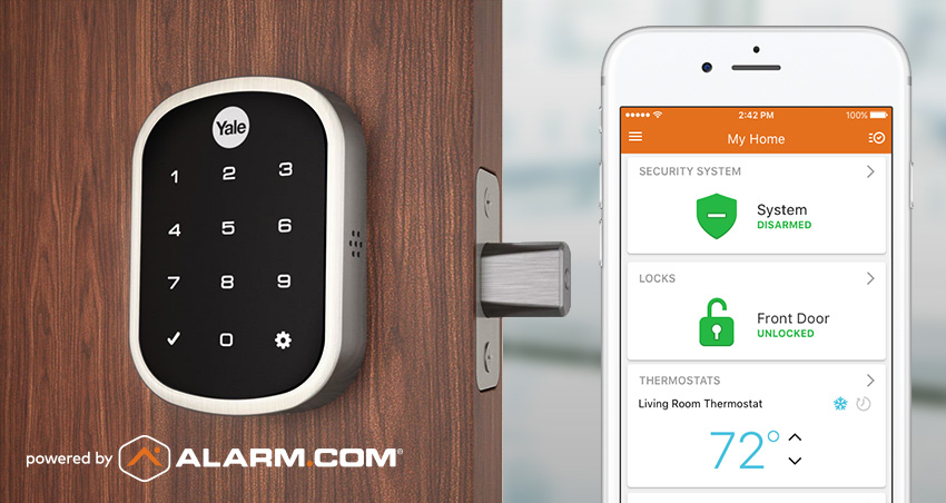 smart lock on Florida door