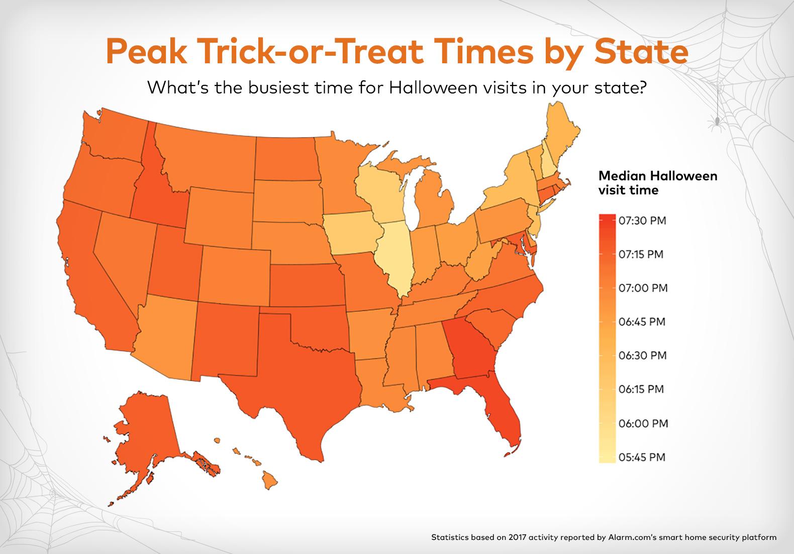Peak Halloween by State Alarm.com