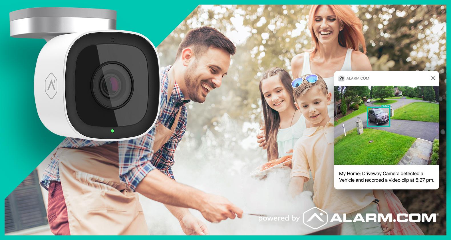 Alarm.com Outdoor Security Camera
