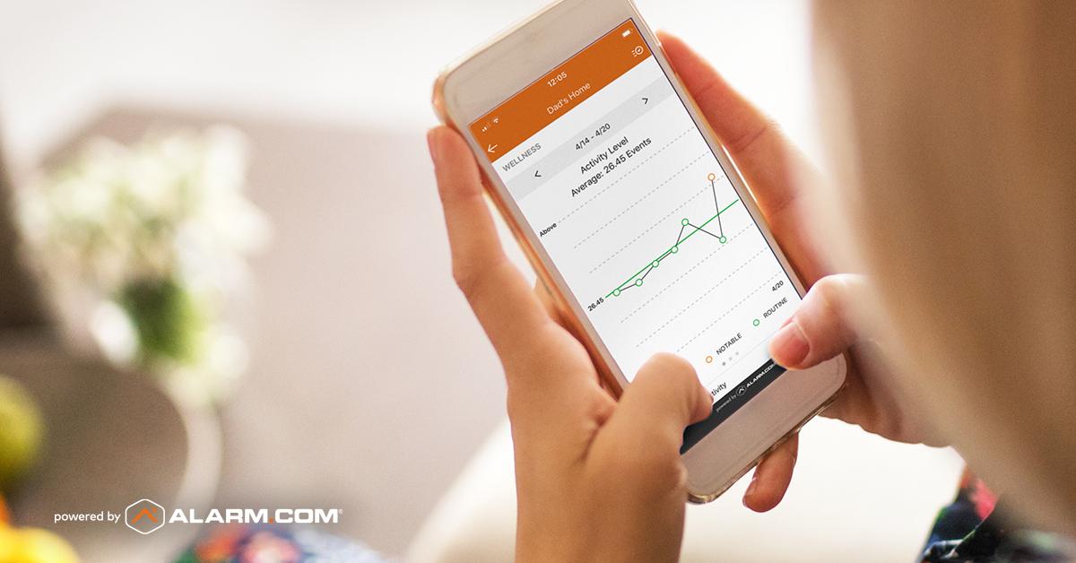Alarm.com Wellness App
